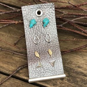 🆕 4 pairs of Lucky Brand earrings
